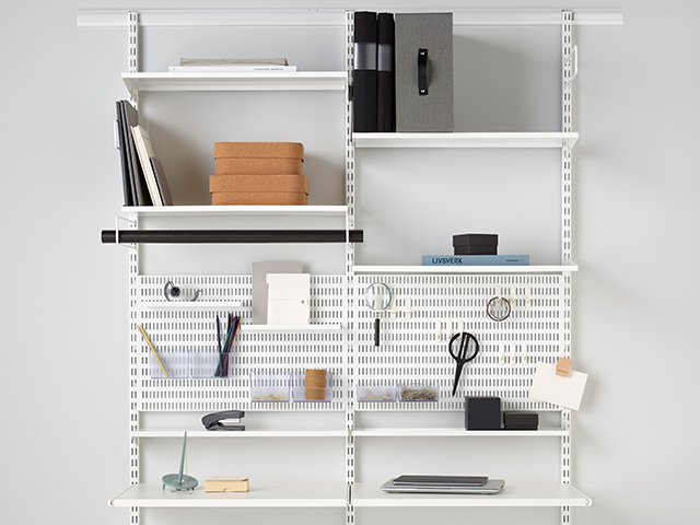 Elfa storage solution home office