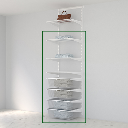 Elfa storage solution