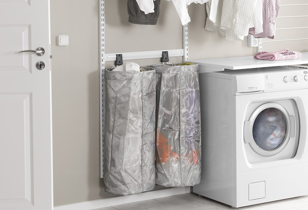 Laundry Room Keep Things Tidy Elfa Inspiration