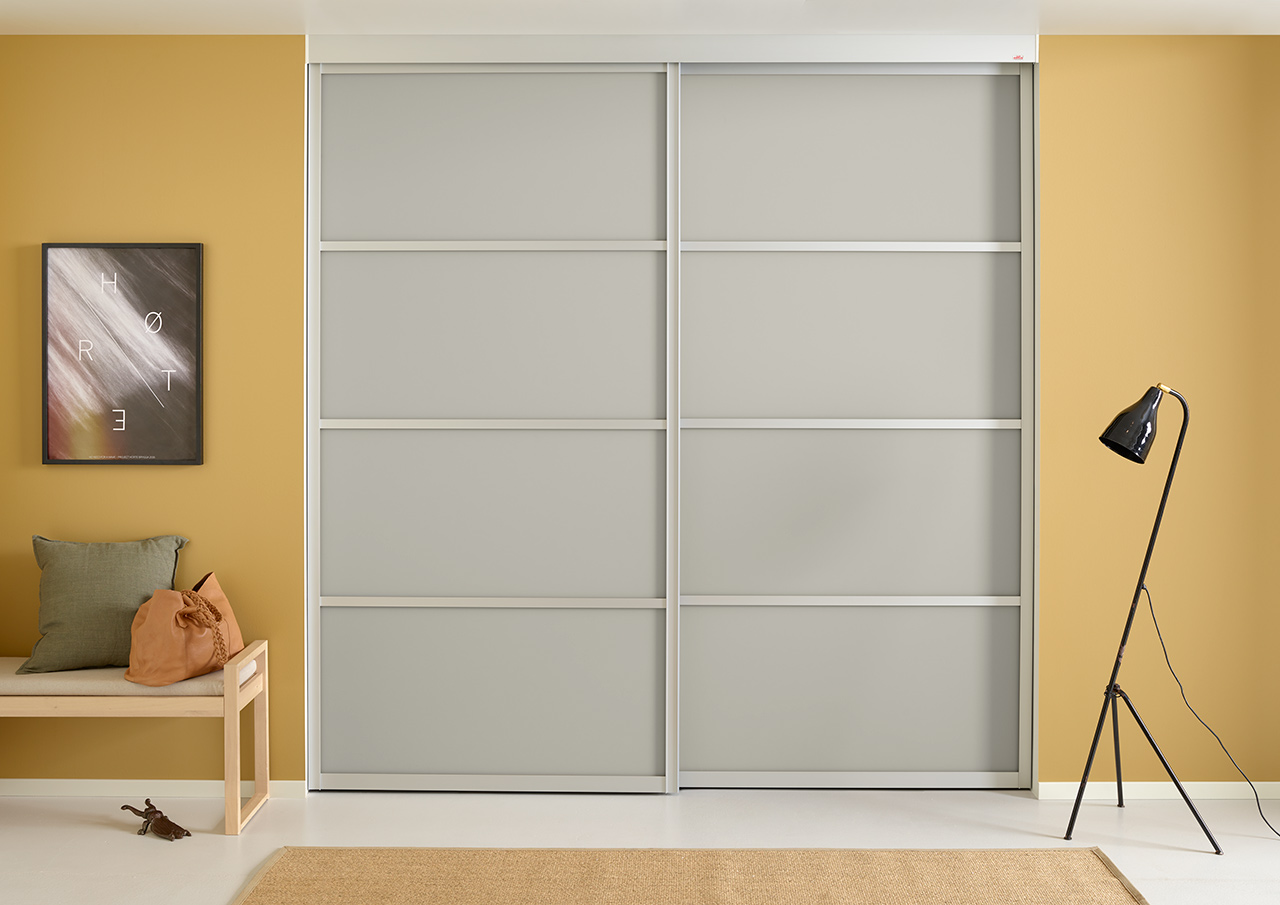 Elfa S Sliding Doors Are Fully Customized Create Your Own Unique According To Dimensions Choose From A Selection Of Frames