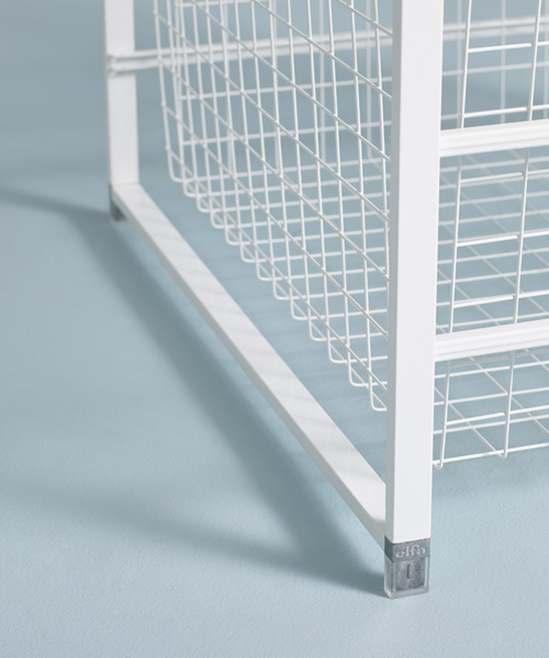 dp elfa translucent mesh drawer in com drawers stops out home amazon pkg