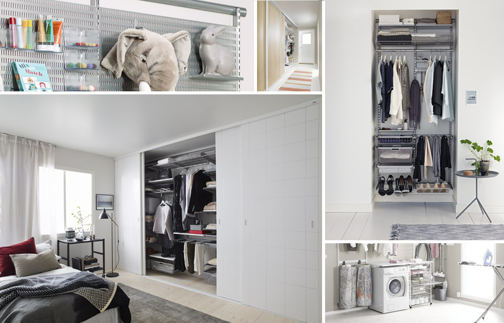 Elfa | Ideas for storage solutions for every room