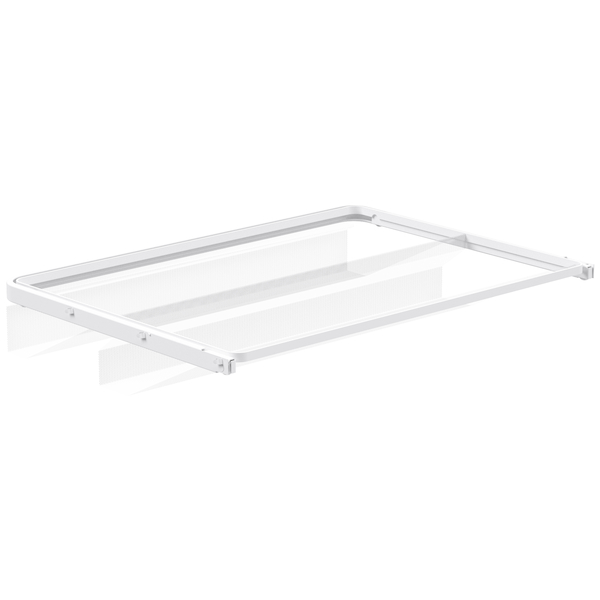 Mesh gliding shoe shelf 60