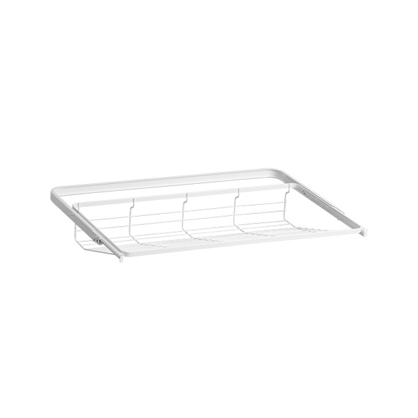 Gliding shoe shelf 30