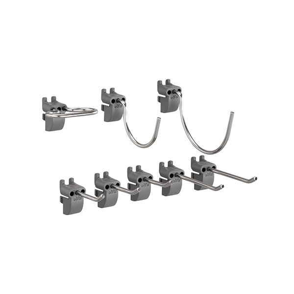 Set of hooks