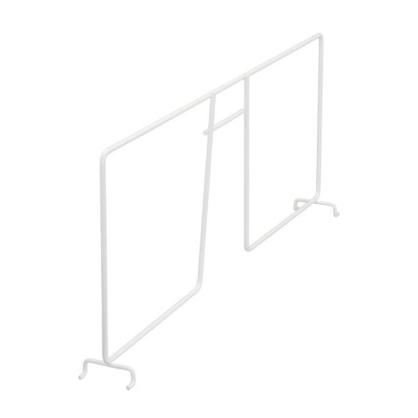 Wire shelf divider 50