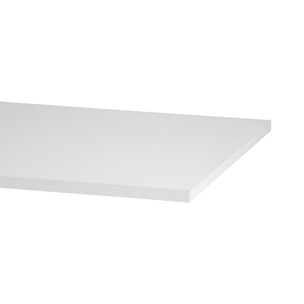 Top shelf, melamine